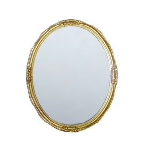 Espejo Oval Breneghy Oro