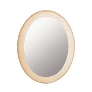 Espejo Oval Travertino