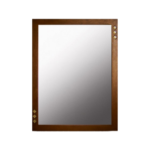 Espejo Triple Vetro Madera Wengue